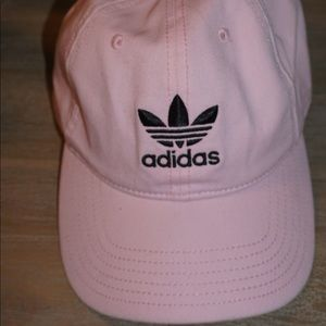 Adidas pink woman's baseball hat